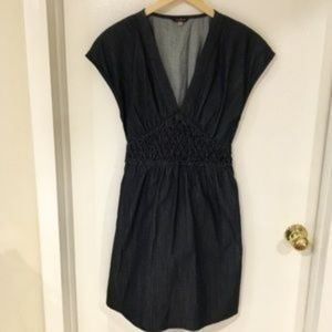 7 For All Mankind Smocked  Supima Dress